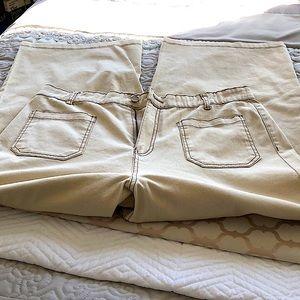 Ardene cotton kaki pant size L NWOT